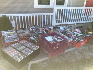 Huge lot of random CDs and DVDs for Sale in Knightdale, NC