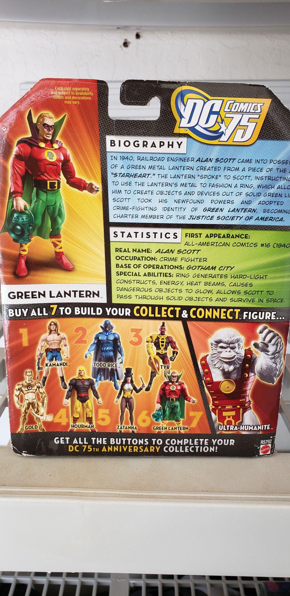 Original Green Lantern figure. Alan Scott