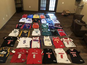 Jersey Collection NBA /NFL/NCAA for Sale in Duluth, GA