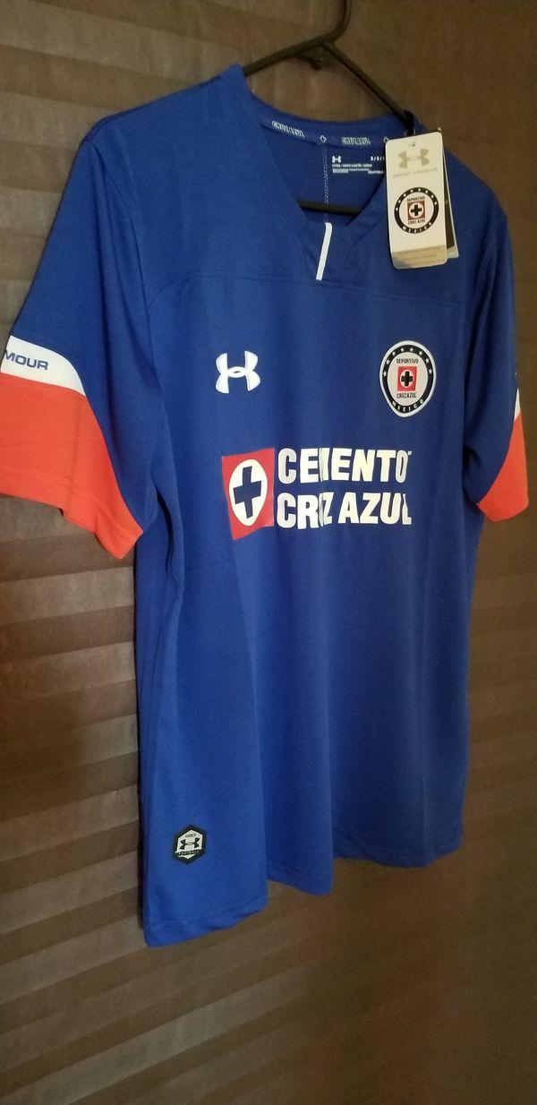 New 18 19 Club Cruz Azul Home Jersey for Sale in McAllen 1b46a00b0