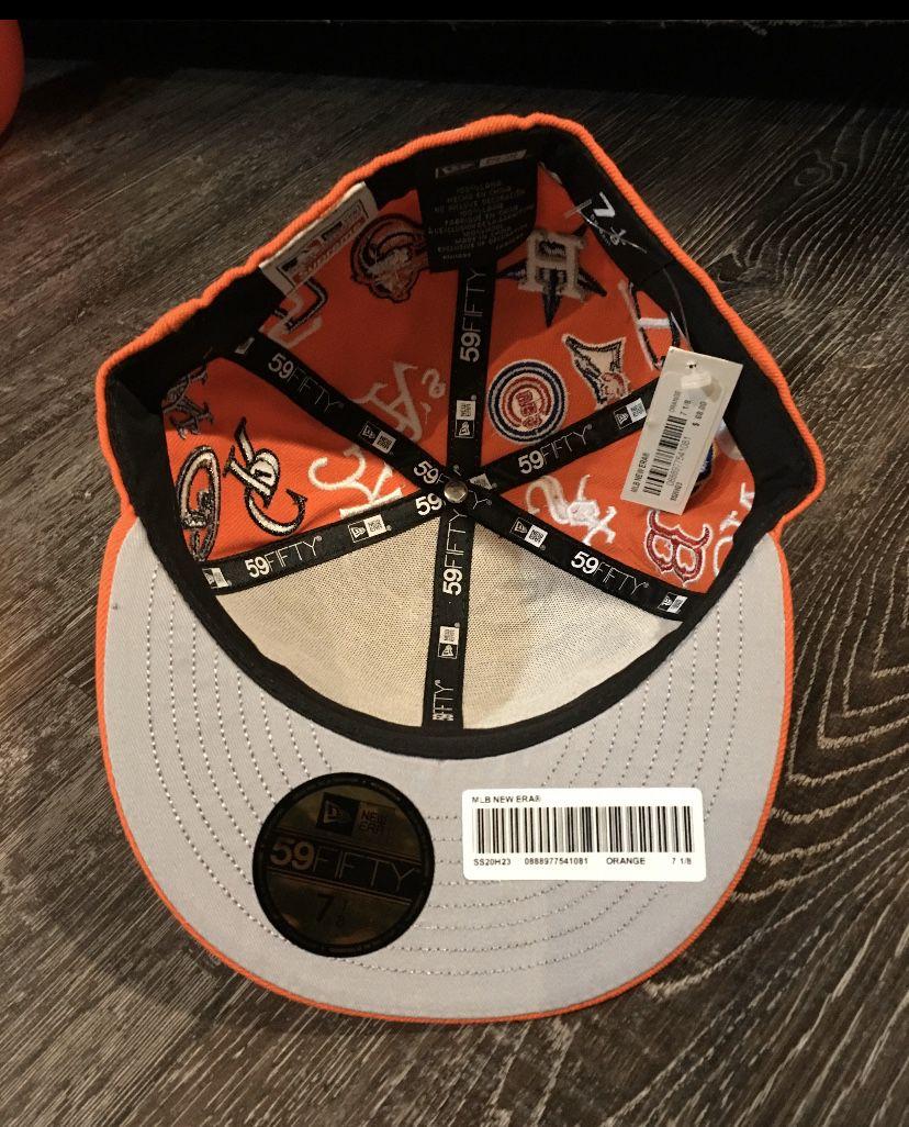 Supreme X New Era Orange MLB