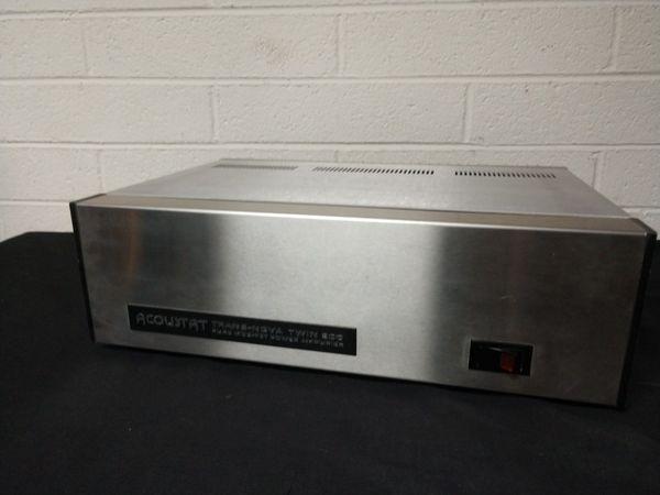 Acoustat tnt-200 trans nova twin 200 stereo power amplifier for Sale in  Phoenix, AZ - OfferUp