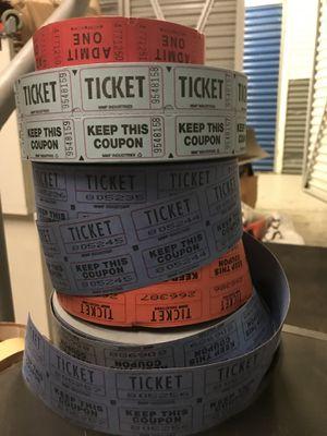 Raffle tickets for Sale in Philadelphia, PA