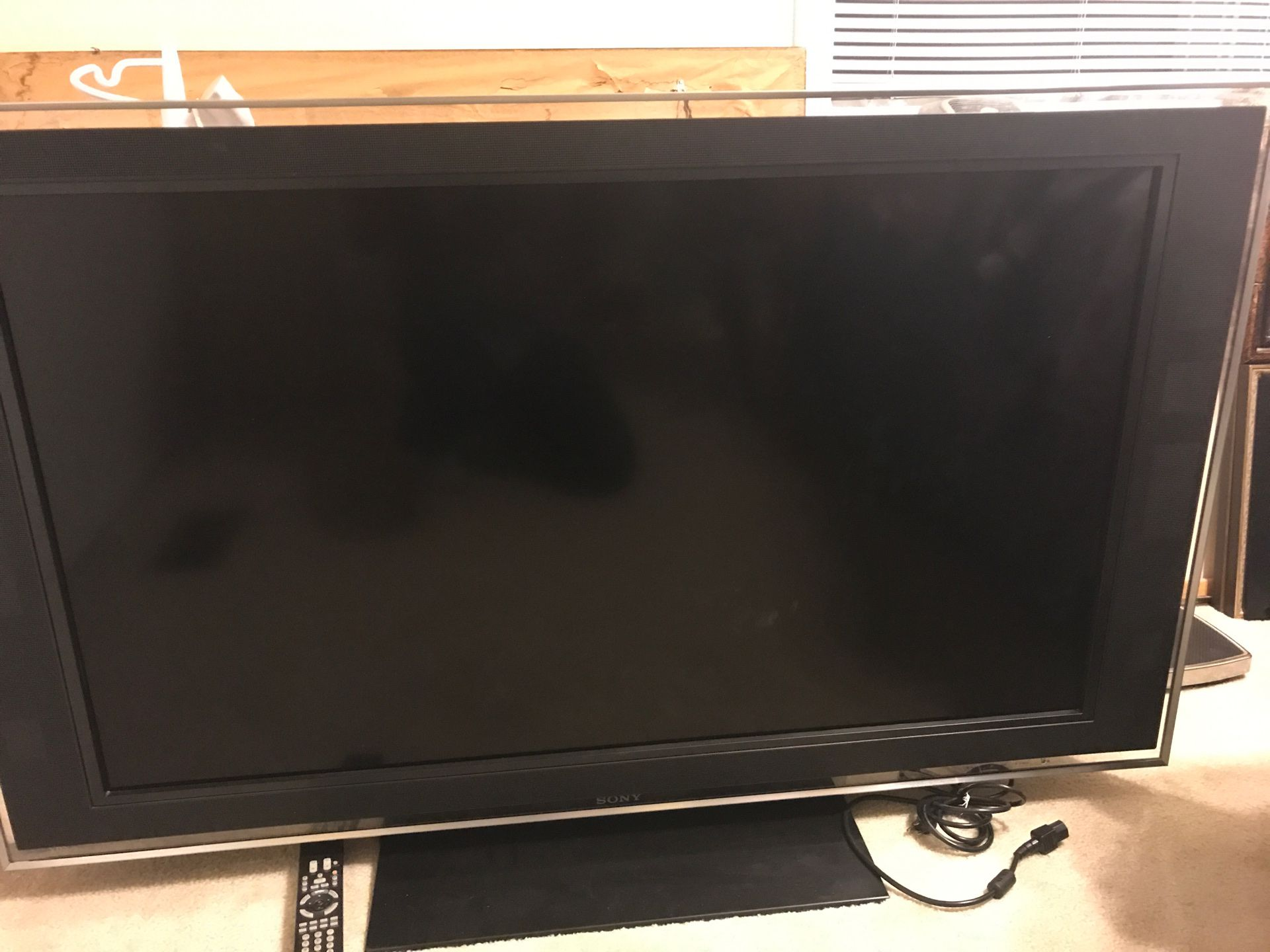 52inches Flat screen Sony brand
