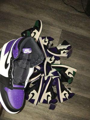 Court Purple Jordan 1 High OG Multiple sizes for Sale in Richmond, VA