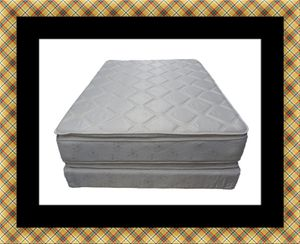 Pillowtop mattress with box spring for Sale in Washington, DC