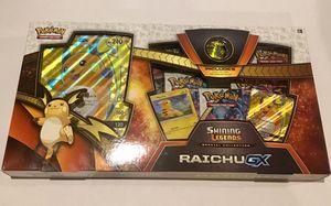 Pokémon Shiny legends Special Collection Raichu GX for Sale in Ashburn, VA