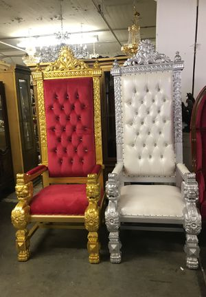 Wedding Throne Chairs Sale For Sale In Brooklyn Ny Offerup