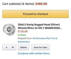 15 Konig Rugged Road Wheels For