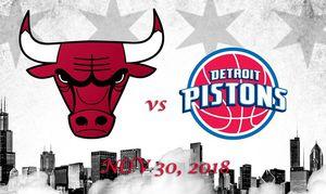 Detroit Pistons vs Chicago Bulls - NOV 30, 2018 for Sale in Detroit, MI