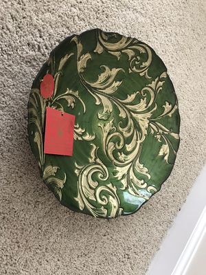 Decorative plate for Festive season for Sale in Apex, NC