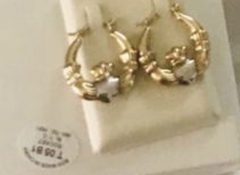 14 K Gold And Silver