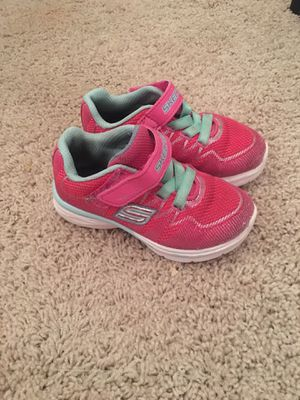079a54d514 Size 8 Skechers Shoes 🎀 Toddler Girls for Sale in Omaha