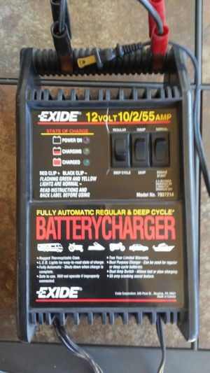 Exide Battery Charger Wiring Diagram from images.offerup.com
