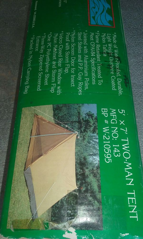 Vintage two person tent for Sale in Phoenix, AZ - OfferUp