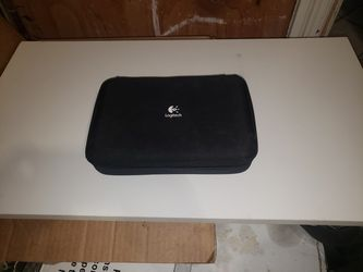 Logitech Computer/Laptop  Speakers. Like new with case and support stands Thumbnail