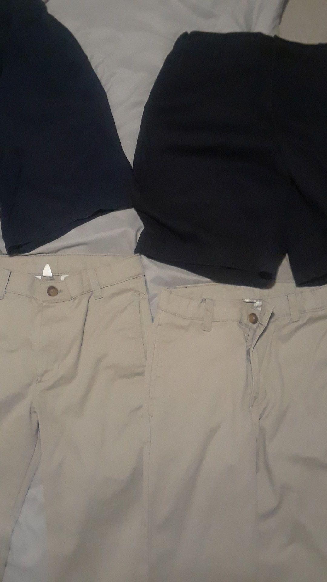 Brand new school clothes