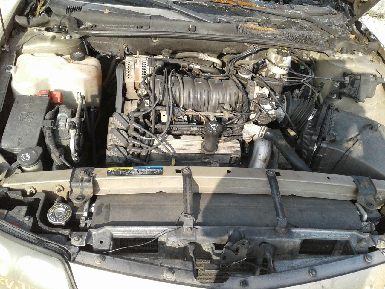 2005 Pontiac Bonneville 3.8 motor for parts only new inventory