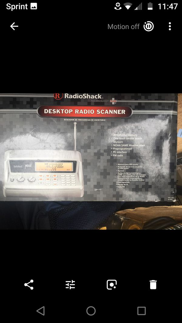 RadioShack PRO-405 scanner for Sale in Los Angeles, CA - OfferUp