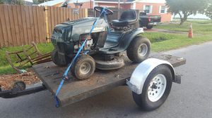Mower and trailer for Sale in Tampa, FL