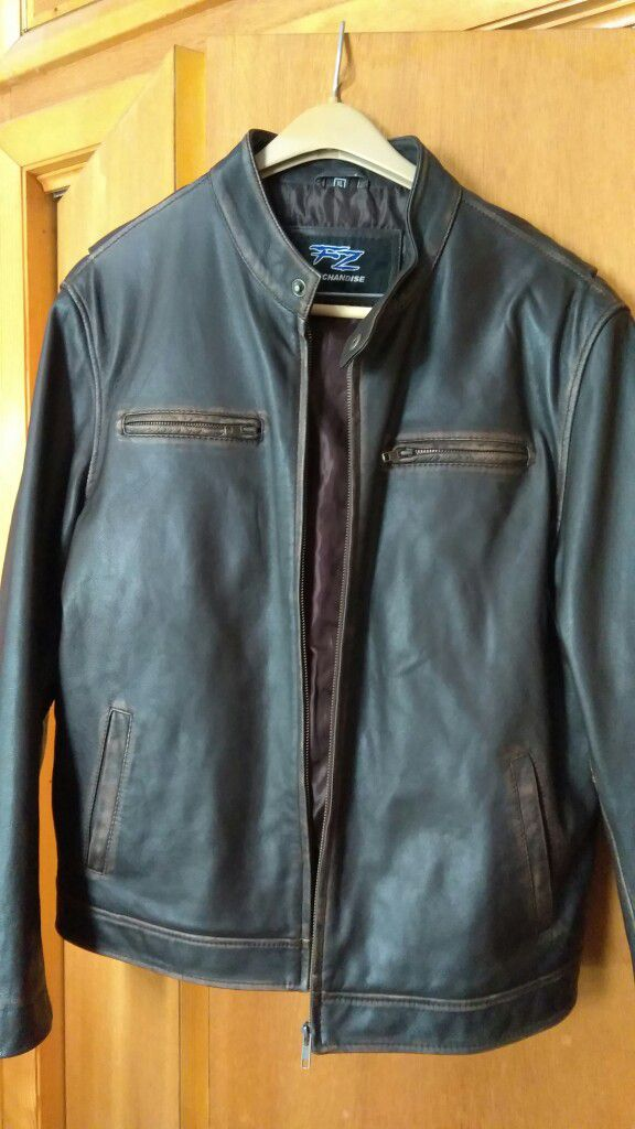 Men S Worn In Leather Jacket By Fz For Sale In Lebanon Pa