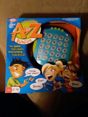 Kids a to z learning game new for Sale in San Diego, CA