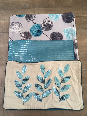 3-pc Pillow Cover set for Sale in San Clemente, CA