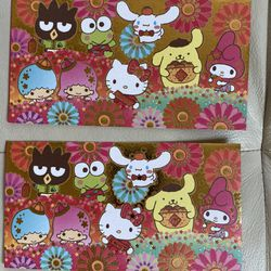 Brand New Sanrio Characters Hello Kitty, My Melody, Little Twin Stars Keroppi Chinese New Year Red/lucky Envelopes Thumbnail