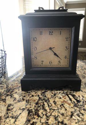 a68272f553 Black Mantel Clock W10 H12 for Sale in Murrieta