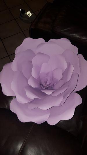 Huge purple paper flower for Sale in Laveen Village, AZ
