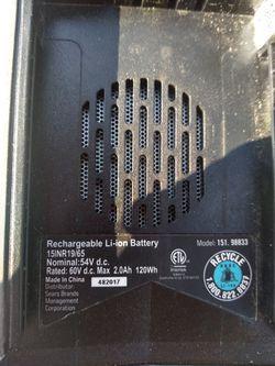 Craftsman 60v batteries Thumbnail