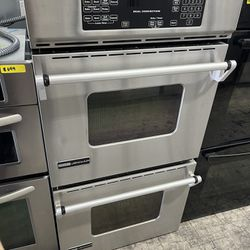 """Jennair 27"""" Double Oven In Stainless Steel Used Thumbnail"""