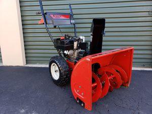 Photo Yard Machines 2 stage Snow Blower 8HP Engine 26 path Elec Start PRICE IS FIRM