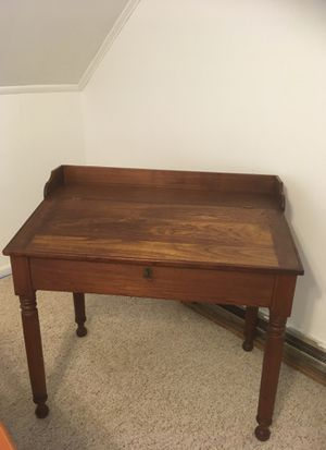 Antique slant top desk for Sale in Arlington, VA