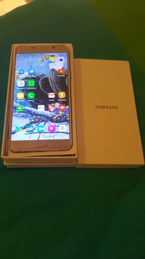 Sansung galaxy nota 5Gold unlocked At&t original desbloqueado timobile simple for Sale in Herndon, VA