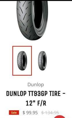 "12"" supermoto street tires, klx110 hoops Thumbnail"