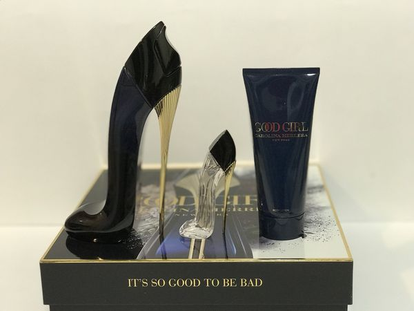 bbb2babeeead GOOD GIRL BY CAROLINA HERRERA PERFUME FOR WOMEN GIFT SET 2.7 oz + MINI +  3.4 oz B L NEW IN BOX