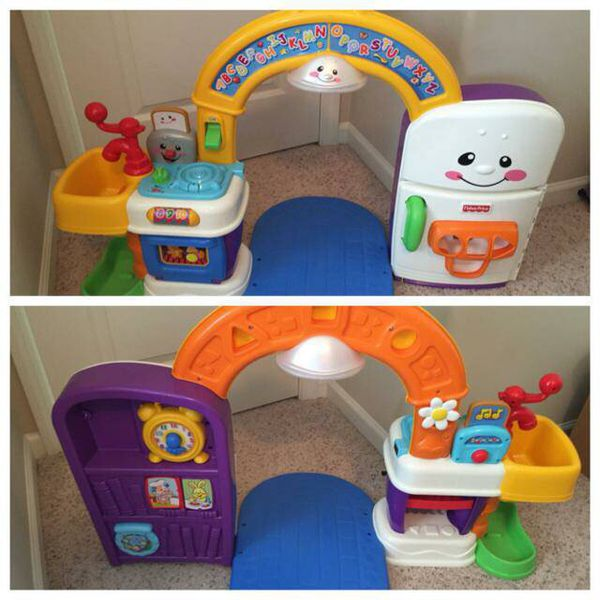 Fisher Price Laugh And Learn 2-in-1 Kitchen For Sale In