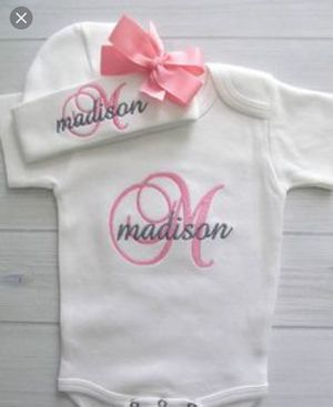 Personailzed baby clothes for Sale in Austin, TX
