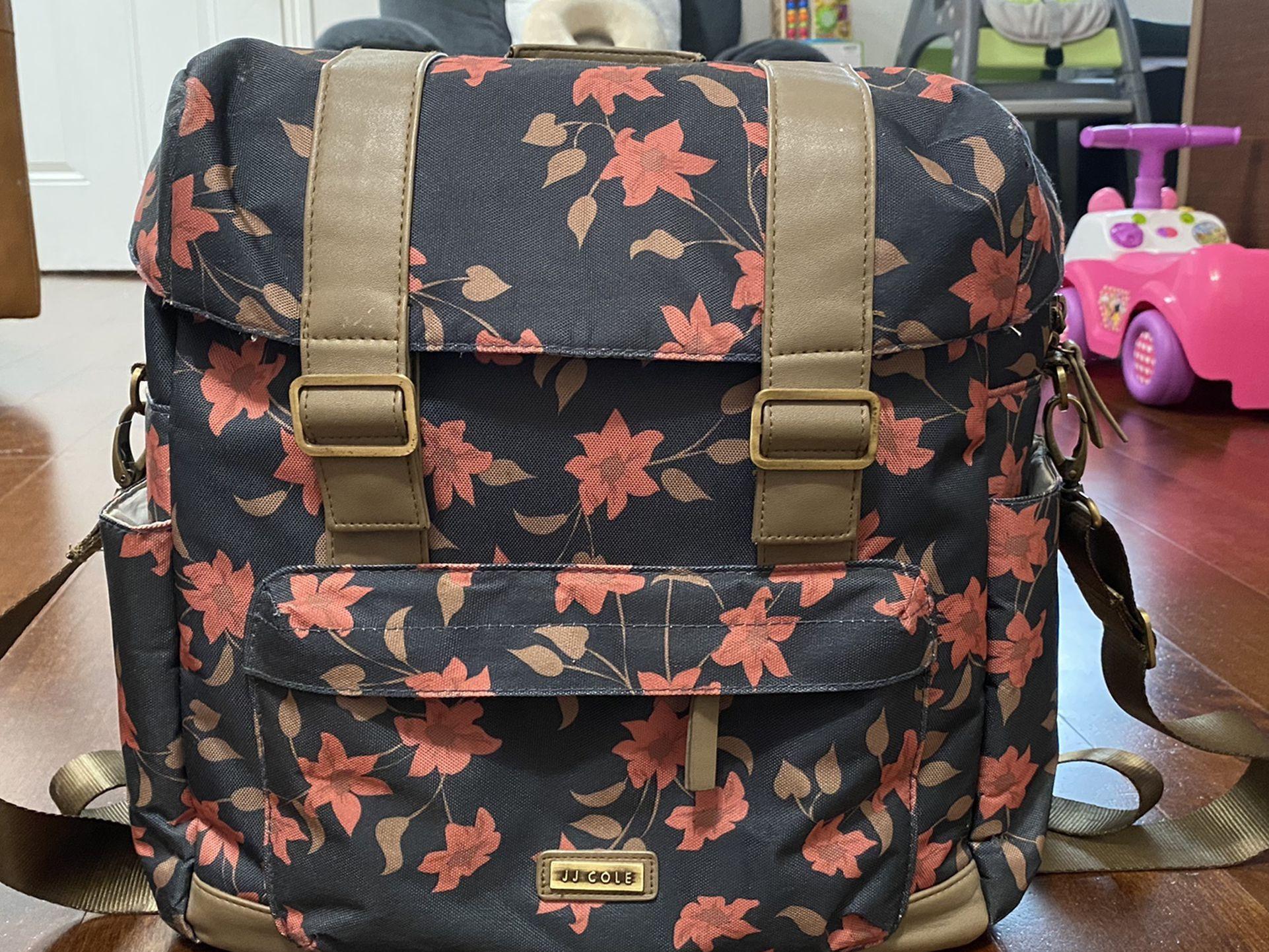 JJ Cole Disper Bag-Floral