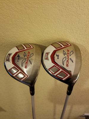 XCG5 3 and 4 wood for Sale in Thornton, CO