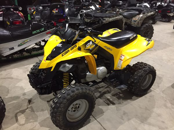 2009 can-am ds250 ds 250 4x2 atv will trade