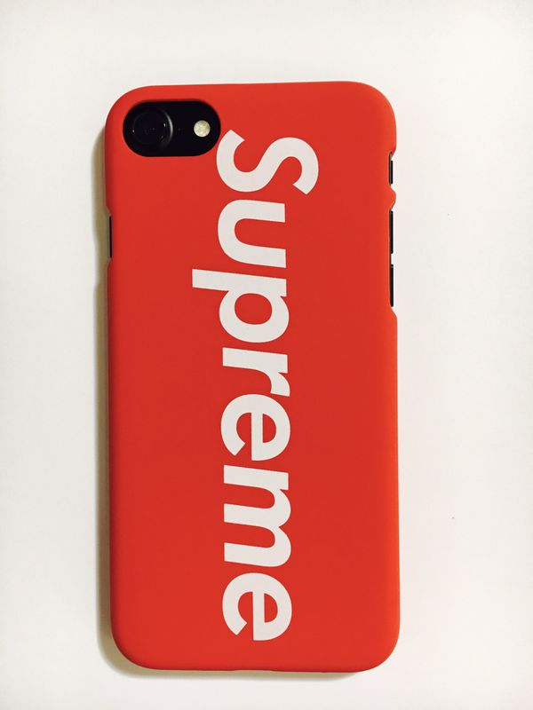 new style be948 f51ff Supreme iPhone Case Cover for iPhone X/8/7/6 & Plus Box Logo Design- Matte-  NEW! for Sale in Dallas, TX - OfferUp