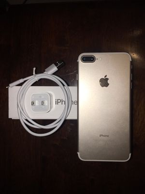 (AT&T/Cricket only) iphone 7plus 128GB for Sale in Washington, DC