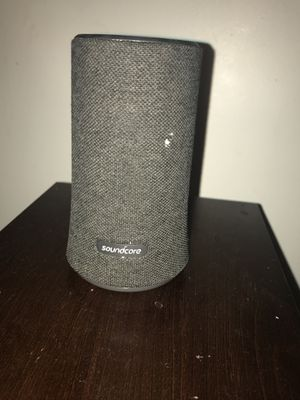 Bluetooth Soundcore Speaker ALL MY ITEMS HAVE TO BE GONE BY FRIDAY THE 9TH OF NOVEMBER IF YOU ARE NOT SEEIOUS DO NOT MESSAGE ME! for Sale in Monessen, PA