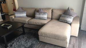 IKEA couch sectional in very good conditions only 1 year for Sale in Ashburn, VA