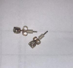 Gold diamond earings for Sale in Sanford, FL