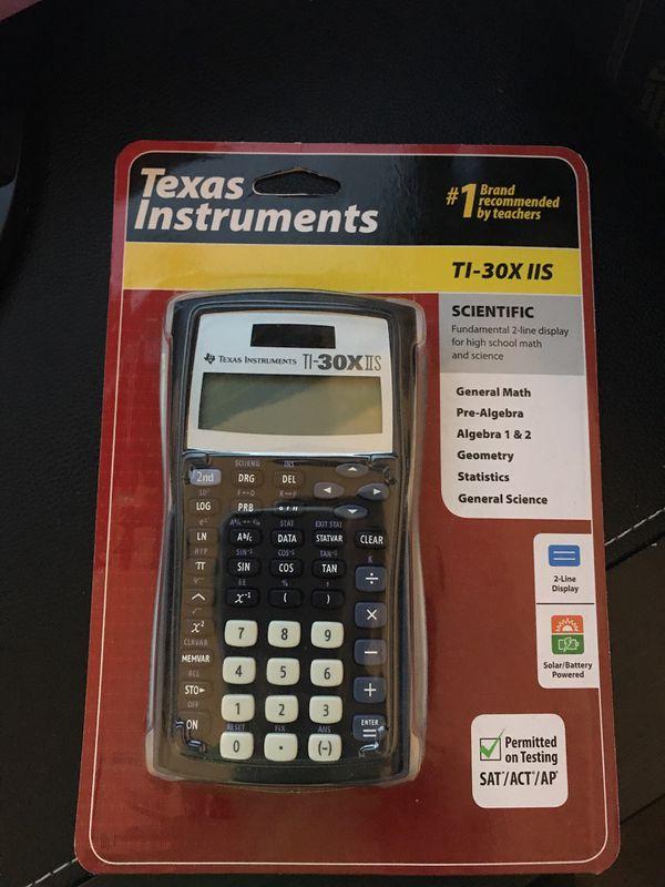 Brand New Texas Instruments Ti 30x Iis Scientific Calculator 2 Line