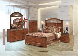 Ashley bedroom set brand new with free mattress and free shipping for Sale in Rockville, MD