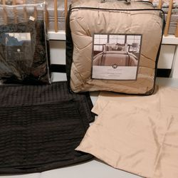 Hotel Collection Bedding Set: Comforter, Pillow Shams, Quilted Coverlet,  Thumbnail
